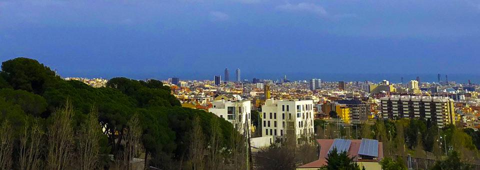 Барселона панорама картинка