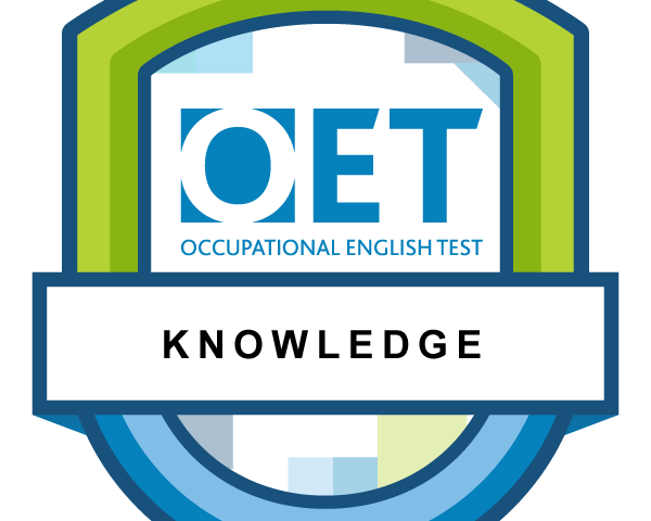 OET Knowledge preparation photo